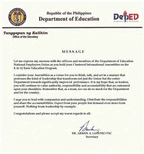 application letters sle for teachers application letter for for deped 28 images application