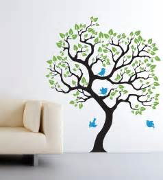 wall decal baby nursery tree wall sticker size