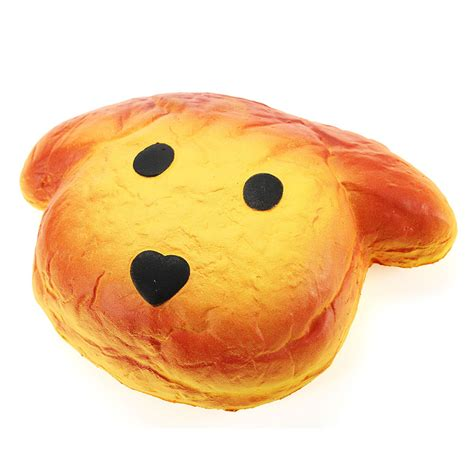 Soft And Slowrise Squishy Hotdog yunxin squishy puppy bread 15cm rising with packaging collection gift decor soft