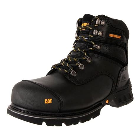 Caterpillar Revo Black Boot Safety Steel Toe Outdoor Adventure Kerja 10 best s work safety boots buy s safety boots