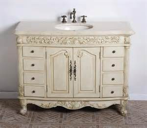 Ideas Country Bathroom Vanities Design Voluptuous Single Bath Vanity Design Ideas Presenting Carved Wooden Materials With White