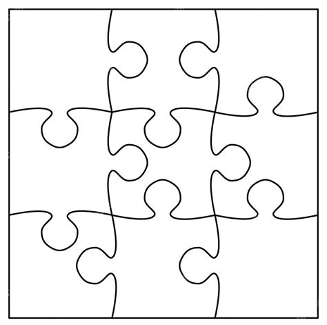Best Of Jigsaw Puzzle Coloring Page Collection Printable Coloring Sheet Free Jigsaw Puzzle Template