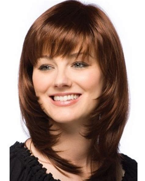 hairstyles women over 50 round face bangs medium hairstyles for round faces 2015 styles time