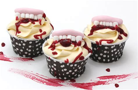 halloween fang cake decorations goodtoknow