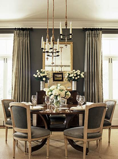 grey dining room ideas gray rooms french dining room bhg