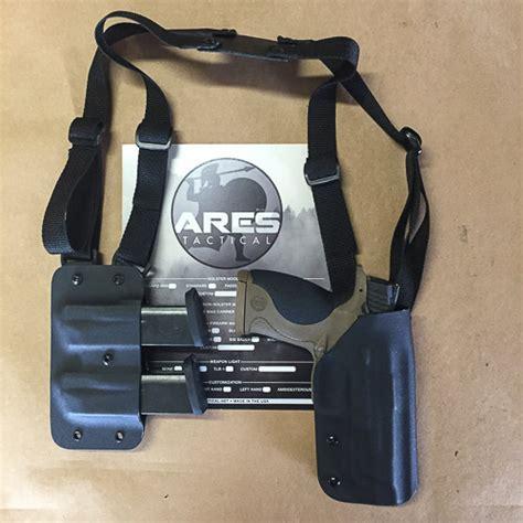 light bearing shoulder holster ares tactical 187 shoulder holster