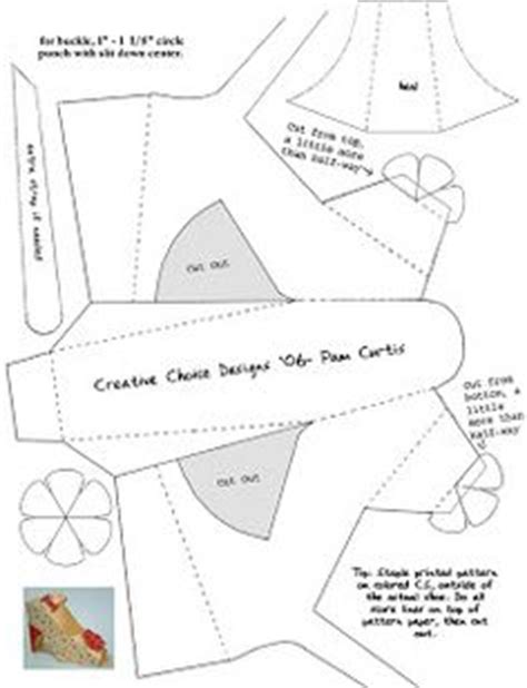3d paper shoe template shoe style on 40 pins