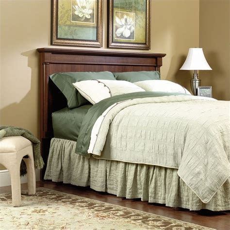 sauder headboard sauder palladia full queen headboard select in cherry 385913