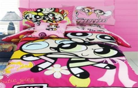 powerpuff bedding network comforter 4 set panel powerpuff