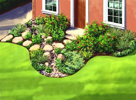 Simple Garden Landscaping Ideas Great Simple Garden Ideas For The Average Home Homelk