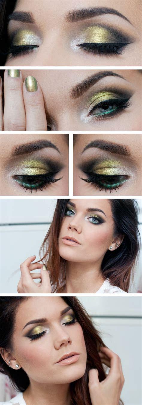 eyeliner tutorial linda hallberg top 10 simple smokey eye makeup tutorials for green eyes