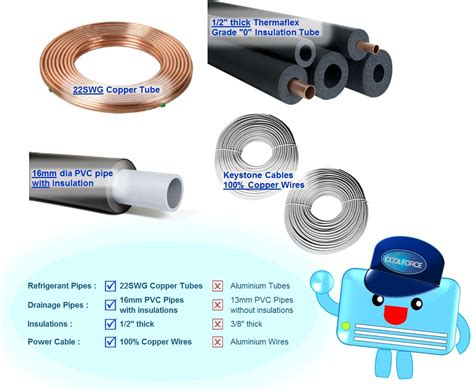 installation materials coolforce pte ltd coolforce aircon engineering