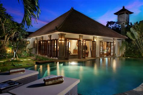 layout villa bali architecture balinese style house designs natural home