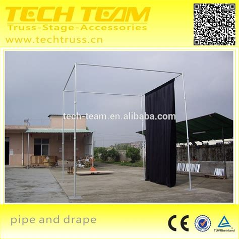 buy pipe and drape wholesale telescopic used pipe and drape wedding decoration pipe and