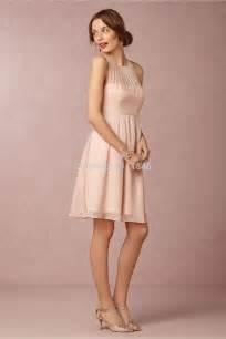 Aliexpress com comprar precioso corto gasa rosada blush de dama de