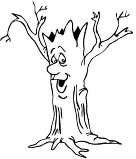 coloring page of a tree trunk tree trunk coloring page clipart best