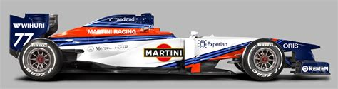martini livery f1 more martini williams concept liveries