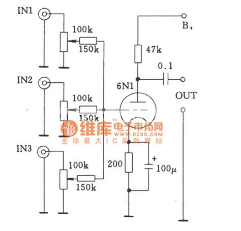 what is a coupling resistor single stage multi channel input circuit of by coupling resistor basic circuit circuit