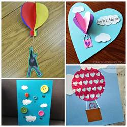 children s arts and crafts air balloon crafts for to make crafty morning