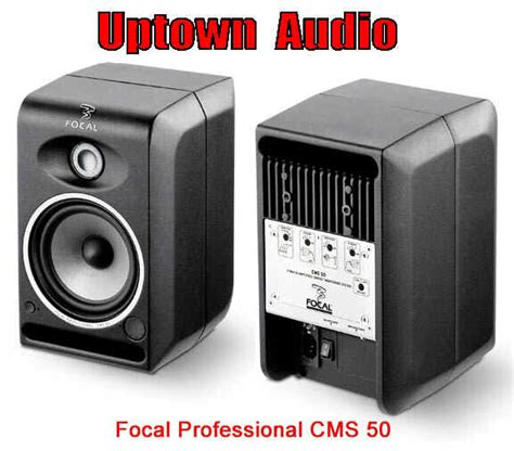 Focal Cms 50 Second the focal professional studio monitor store buy nearfield powered monitors active studio monitors