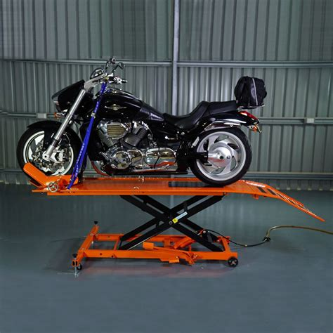 Motorrad Lift by 450kg Capacity Motorcycle Lift Table Altraks