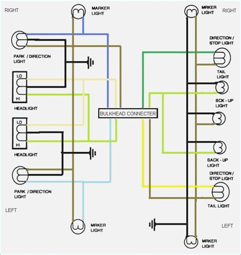 basic wiring diagram turn signals for vehicle turn signal