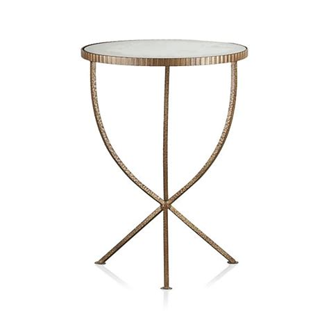 small accent table jules small accent table crate and barrel