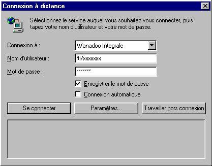 raccourci connexion bureau à distance configurer une connexion sous windows 98