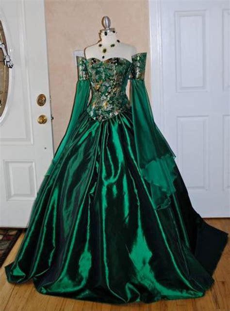 items similar  miranda medieval corset gown silk