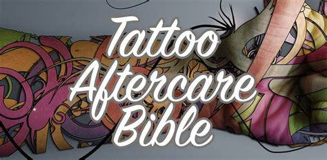 tattoo aftercare everything you need to know