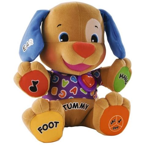 puppy play fisher price fisher price laugh and learn to play musical puppy