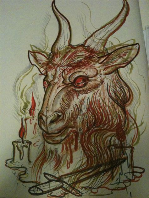 goat tattoos designs goat images designs