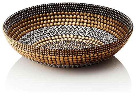 Decorative Bowls Home Decor | black silver gold small bowl decor eclectic decorative