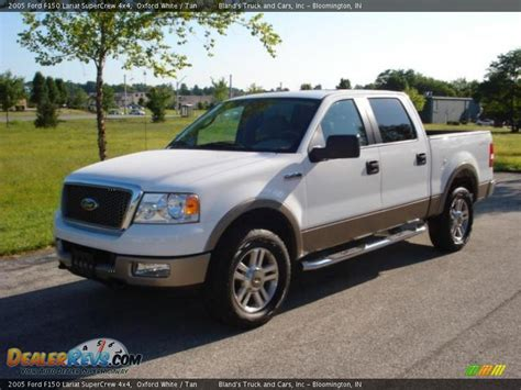 2005 Ford F150 Lariat by 2005 Ford F150 Lariat Supercrew 4x4 Oxford White