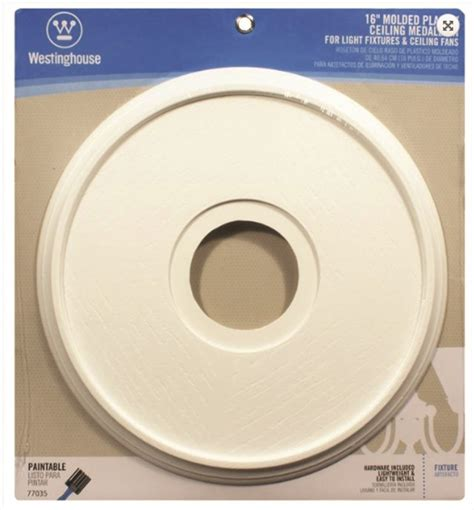 westinghouse ceiling medallion westinghouse lighting 7703500 ceiling medallions molded