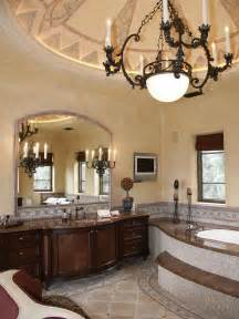 Tuscan Bathroom Design by Unique Idea Barbara Tuscan Villa Master Bathroom Decosee Com