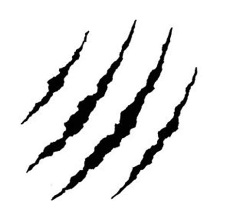 Silhouette Home Decor by Claw Marks Sticker Decal For Car Trailer 4wd Brand New
