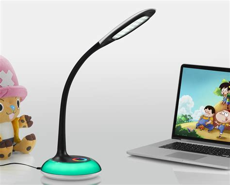lat dimmable led desk l maily dimmable led table l with usb port lightscouk