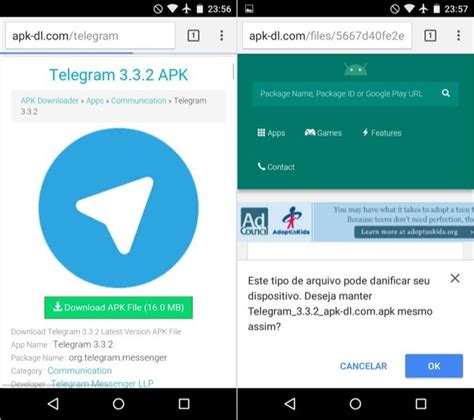 telegram apk como baixar o app do telegram via apk dicas e tutoriais techtudo