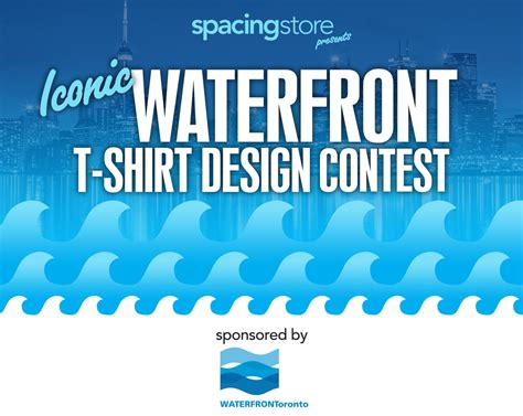 Design Contest Toronto   iconic waterfront t shirt design contest spacing toronto
