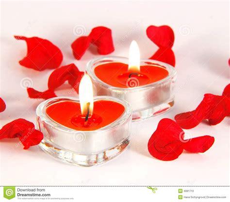 candele romantiche romantische kerzen stockfoto bild 4081710