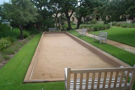 how to build a bocce ball court bocce ball court