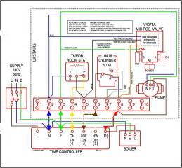 honeywell 3 port valve wiring diagram honeywell wirning