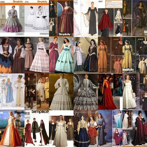 simplicity pattern history renaissance costume historical oop simplicity sewing