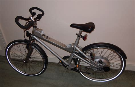 mercedes electric hybrid bike flickr photo