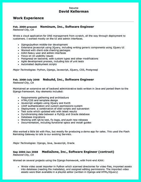 Cpp Programmer Cover Letter by Computer Programmer Resume Exles To Impress Employers