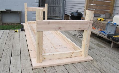 dining table leg placement how to build a diy farmhouse wedding table merrypad