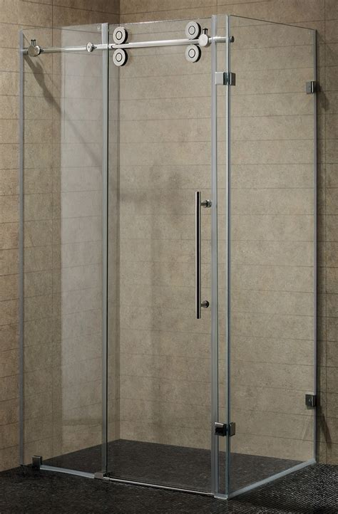 frameless tub shower doors shower doors frameless frameless hinged shower door in