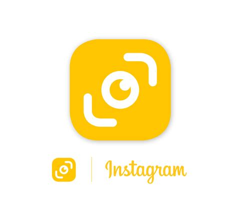 design a logo for instagram image gallery instagram logo yellow