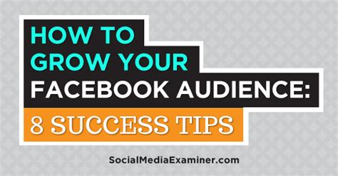 8 Tips On Succeeding In This World by How To Grow Your Audience 8 Success Tips